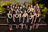 University of Hawaii at Manoa dental hygiene class of 2014 graduates at the school's recognition ceremony held on Thursday, May 15, 2014 at UH Manoa Kennedy Theatre.