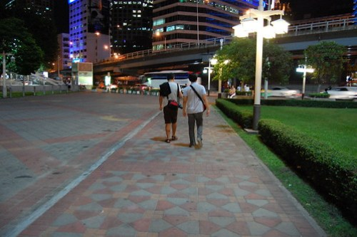 On our Way to Silom District