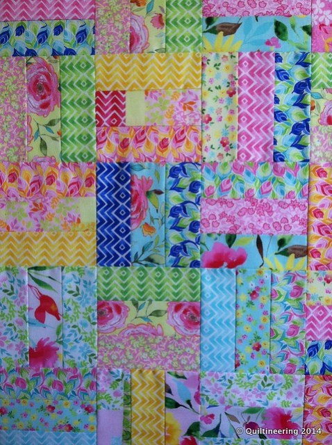 Rail Fence Charity Quilt