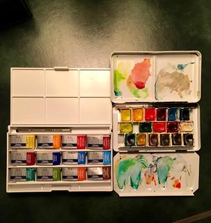 winsor newton watercolor set - 8