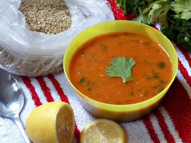 chorba frik recipe