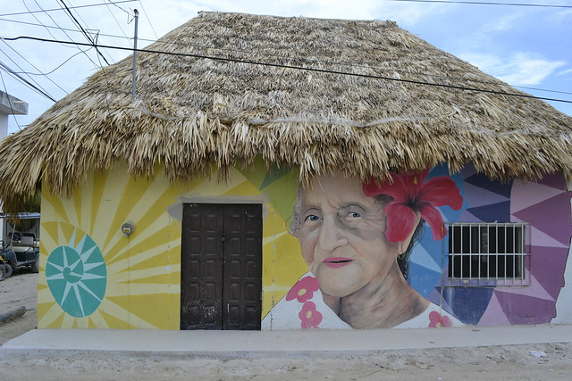 Cancun alternatives _ Street art in Isla Holbox