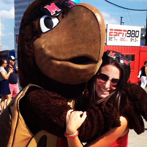 Sorry ladies, he's taken. #thinkB1G #testudolove @umterps