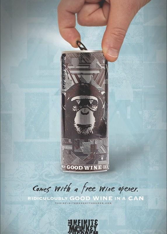 The Infinite Monkey Theorem - Wine opener