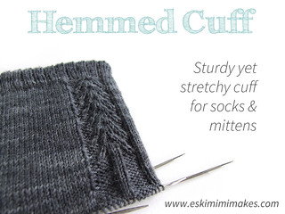 Sturdy Yet Stretchy Hemmed Cuff Tutorial