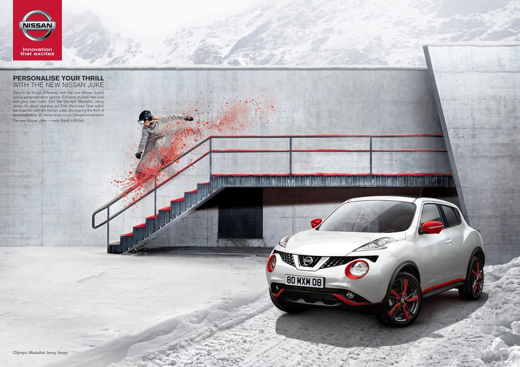 Nissan Juke - Personalise Your Thrill