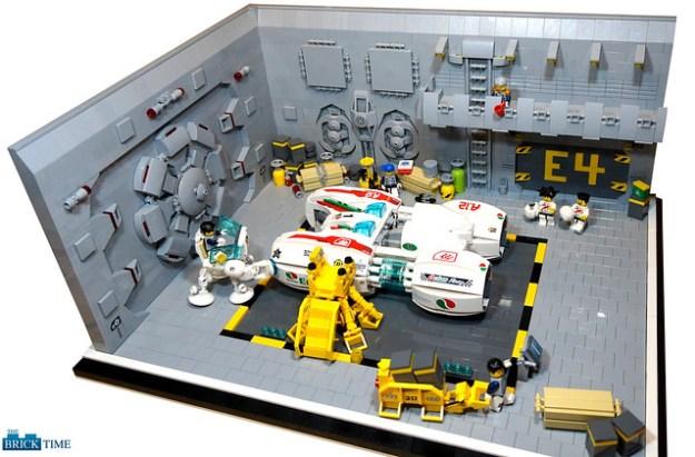 Octan Speedstar - hangar