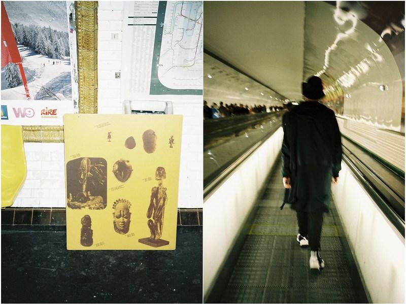 5 - Tuukka Laurila - Paris Photo Diary - Paris Metro Underground