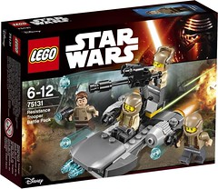 75131 Resistance Trooper Battle Pack