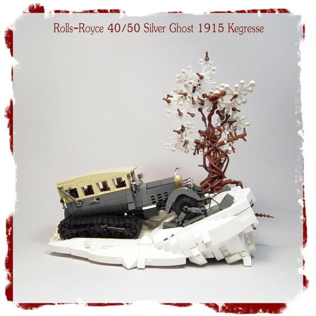 Rolls-Royce 40/50 Silver Ghost 1915 Kegresse