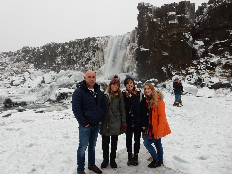 22/11 Golden Circle met papa, annemieke, marlies