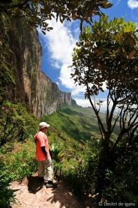 Sendero ao topo do Tepuy Roraima.