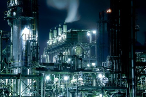Factory nightview