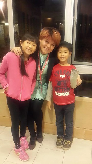 Josiah with Joey and Irene Jie Jie