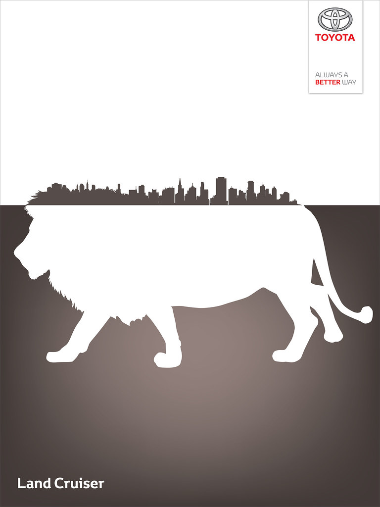 Toyota Land Cruiser - Wild City Lion King