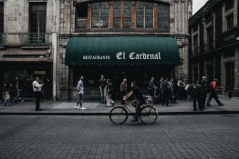 Our team heads into El Cardenal, an iconic Mexican eatery.