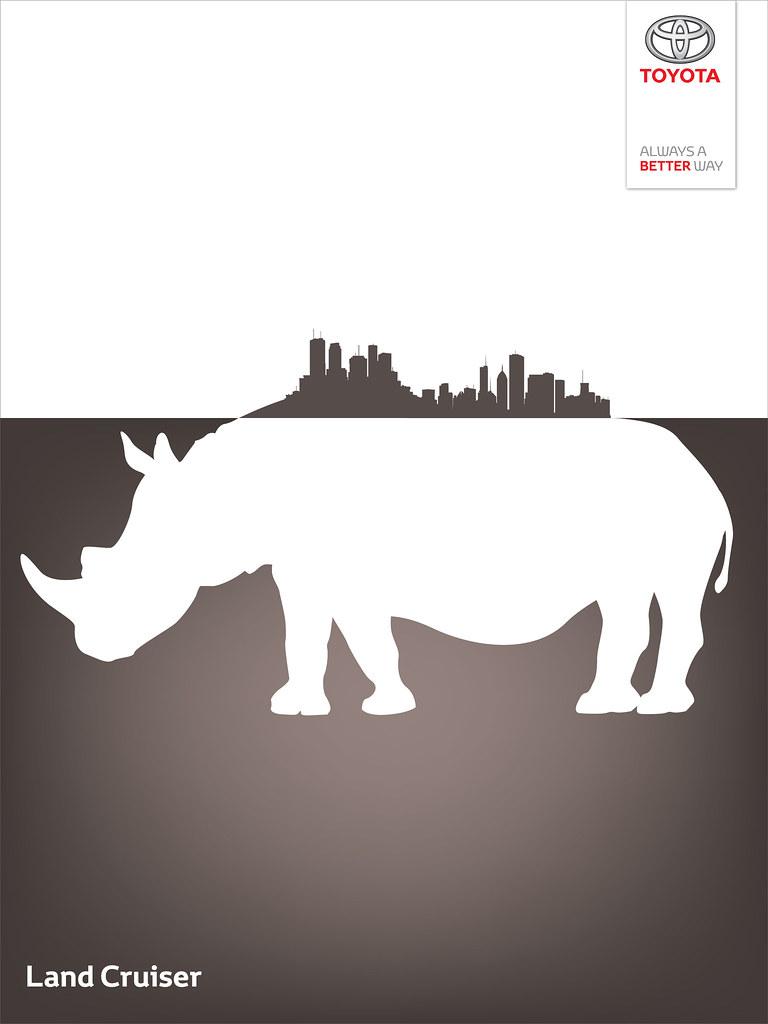 Toyota Land Cruiser - Wild City Rhino