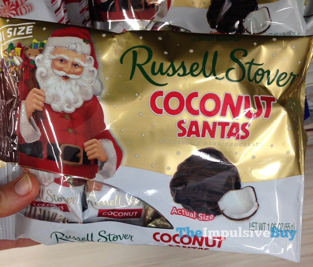 Russell Stover Coconut Mini Santas