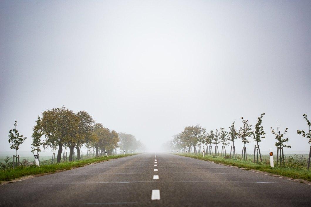 Imagen gratis de una carretera sin fin