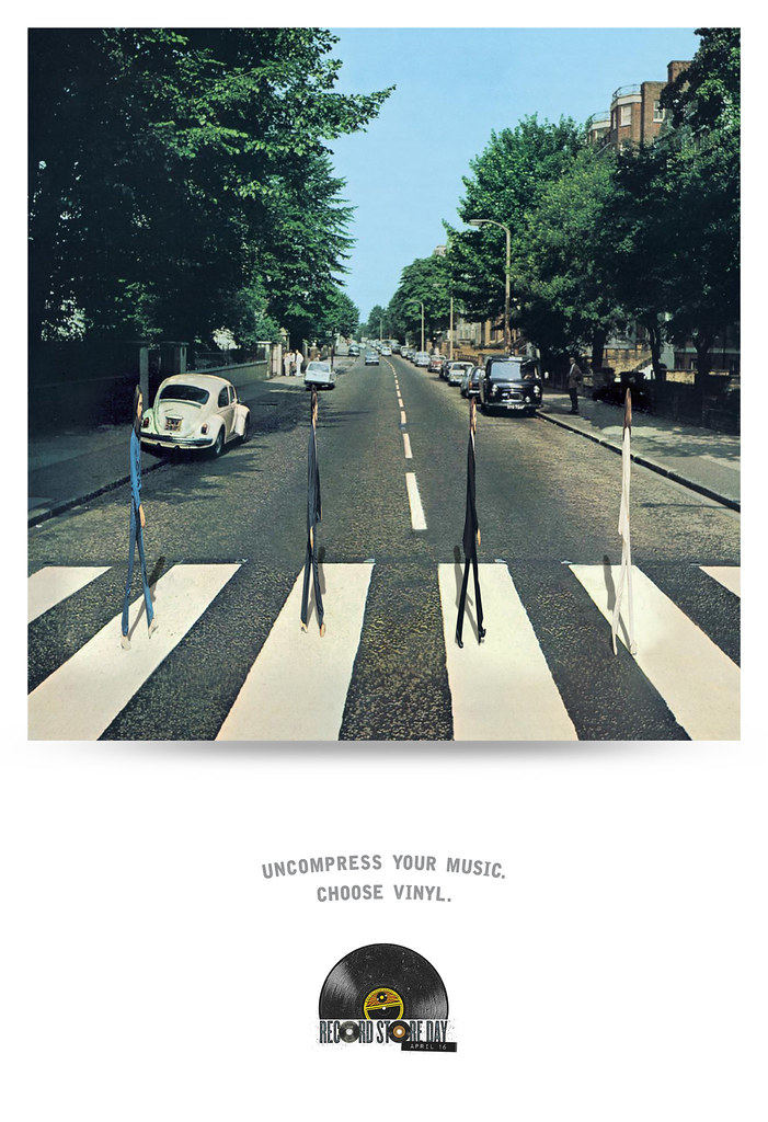Record Store Day - Uncompress your Music The Beatles
