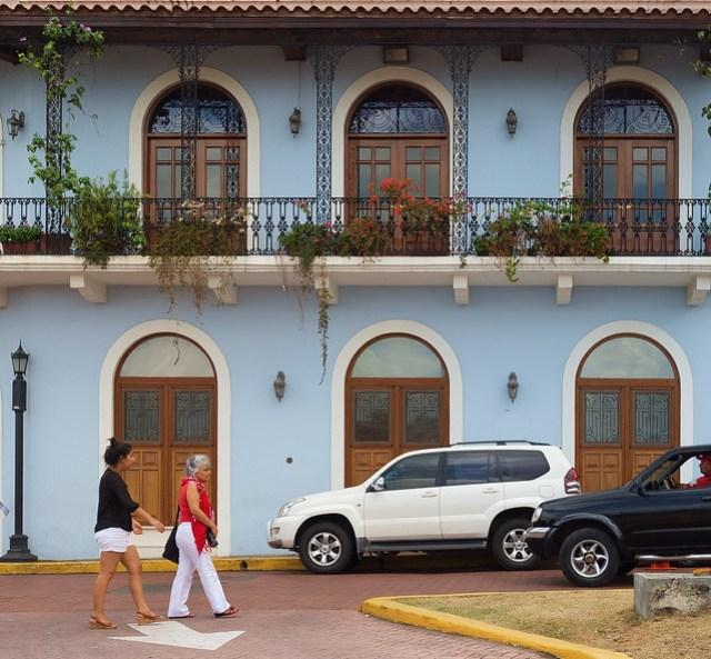 Flowered Balconies in Casco Viejo