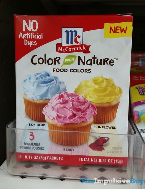 McCormick Color From Nature Food Colors