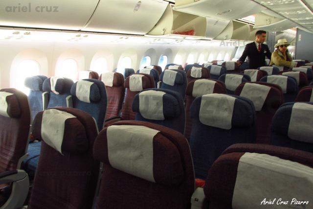 Economy | Boeing 787-8 Dreamliner de LAN