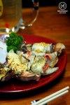 Sydney Food Blog Review of Tamagta Ya, Neutral Bay: Mentai Cheese Gyoza, $8.80