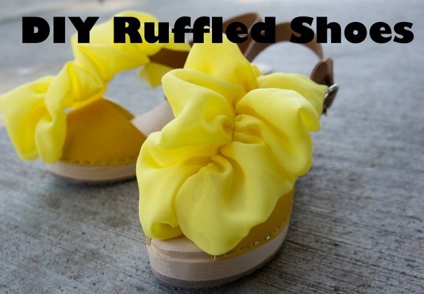 Clogs with Yellow Ruffles - cover