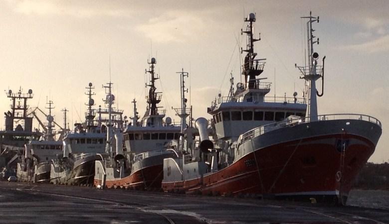 GG 207 Torland, GG 204 Tor-ön, GG 203 Ginneton och GG 505 Polar