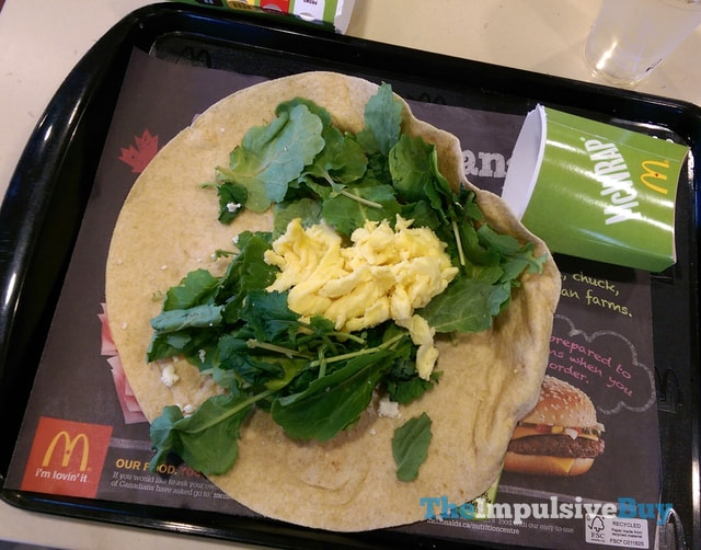 McDonald's Kale & Feta More-Ning McWrap 2