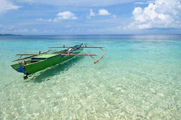 Clear water. Hatta, Banda Islands