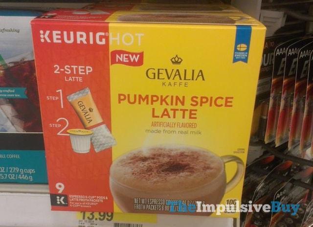 Gevalia Kaffe Pumpkin Spice Latte K-Cups
