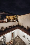 Casa Oaxaca's vibrant rooftop terrace.