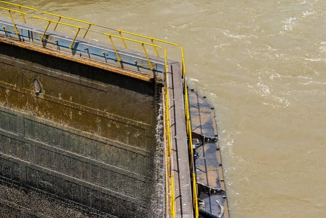 Gates at Panama Channel