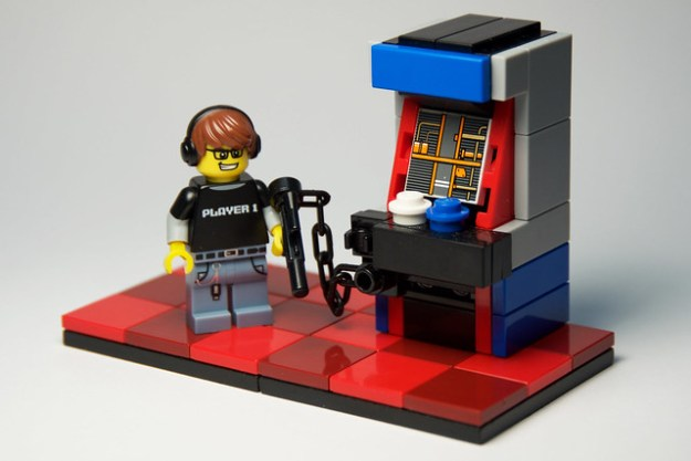 Arcade - Gun Machine and Player