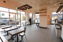 Fraserhood's new Prado Cafe, just a few days before launch