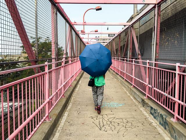 a walk across the Williamsburg Bridge