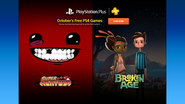 PS Plus: October 2015
