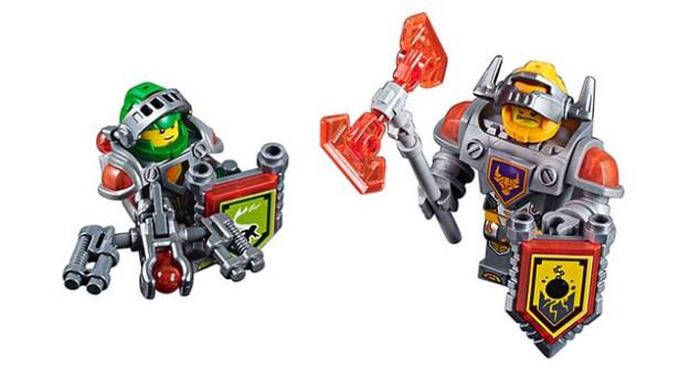 LEGO Nexo Knights Aaron and Axl