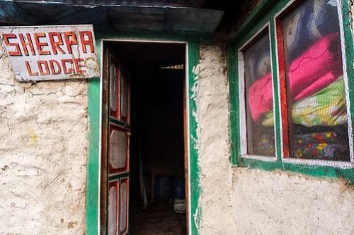 Sherpa Lodge. Thore