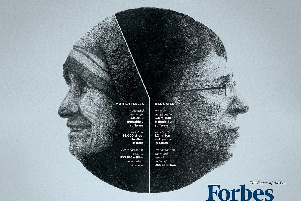 Forbes - Money is good Theresa & Gates