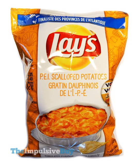 Lay's Do Us a Flavour P.E.I. Scalloped Potatoes