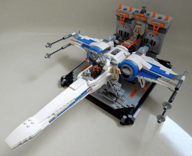 X-Wing in Hangar