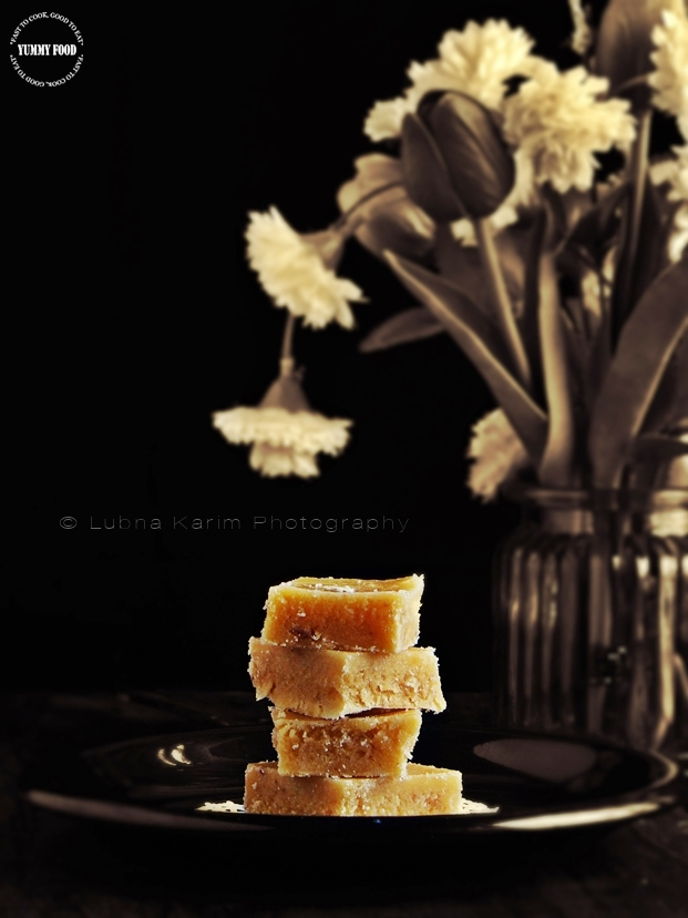 Mysore Pak/Rich Chickpea Flour Fudge