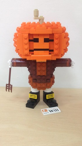 Halloween Pumpkin Man