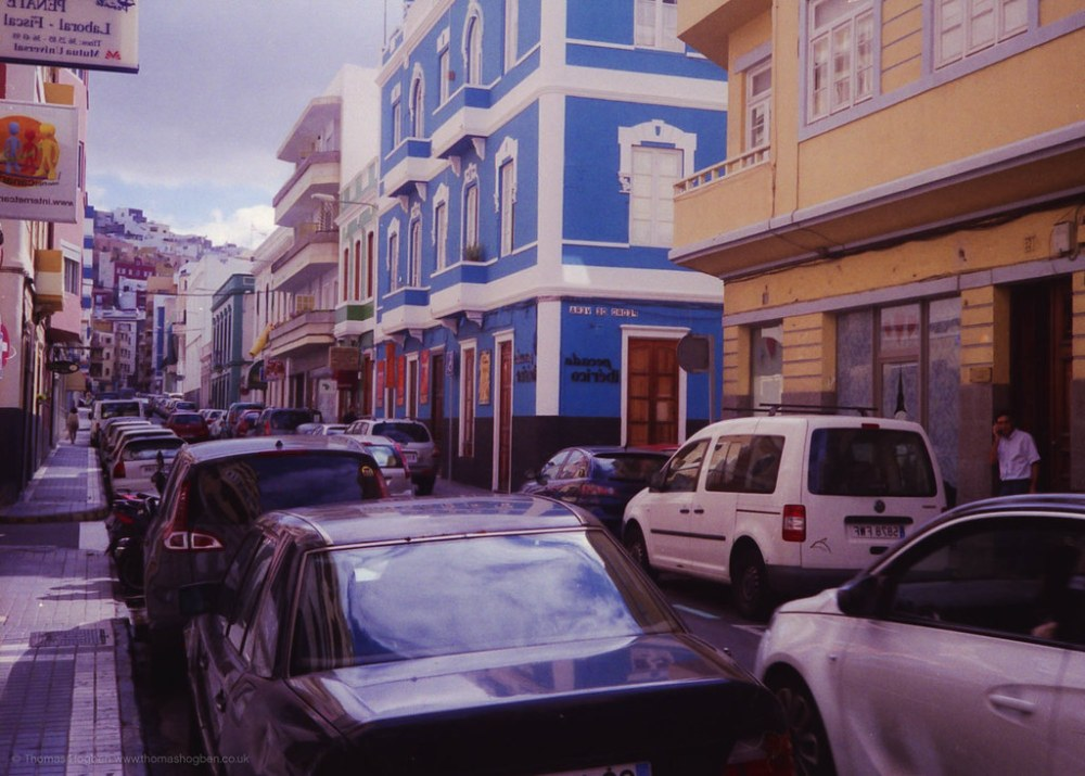 Gran Canaria - Streets with cars