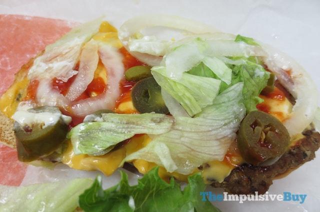 Burger King Extra Long Jalapen?o Cheeseburger 2