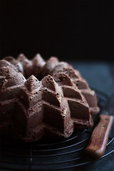 Day 1 - Dark Chocolate Sunflower Bundt