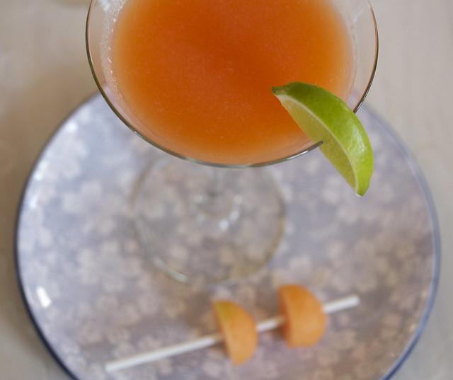 Cantaloupe Martini